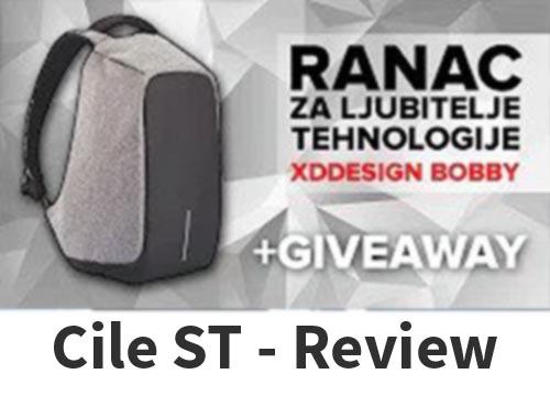 Ranac za ljubitelje tehnologije, torba za laptop i tablet