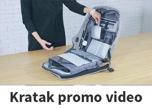Promo video ruksak Bobana