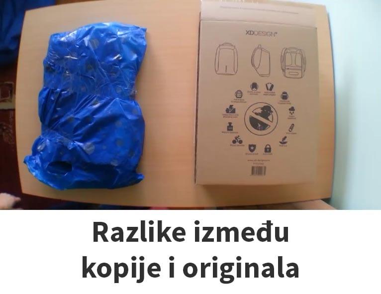 Razlike između kopije i originala, Boban torba