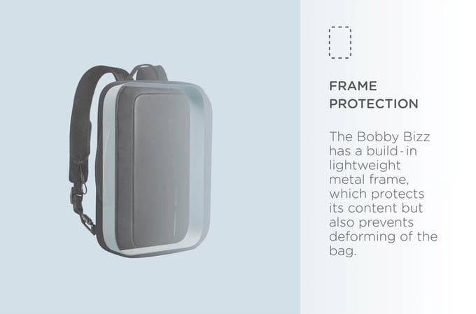 Aluminijumski okvir - torba za laptop Biznis Boban