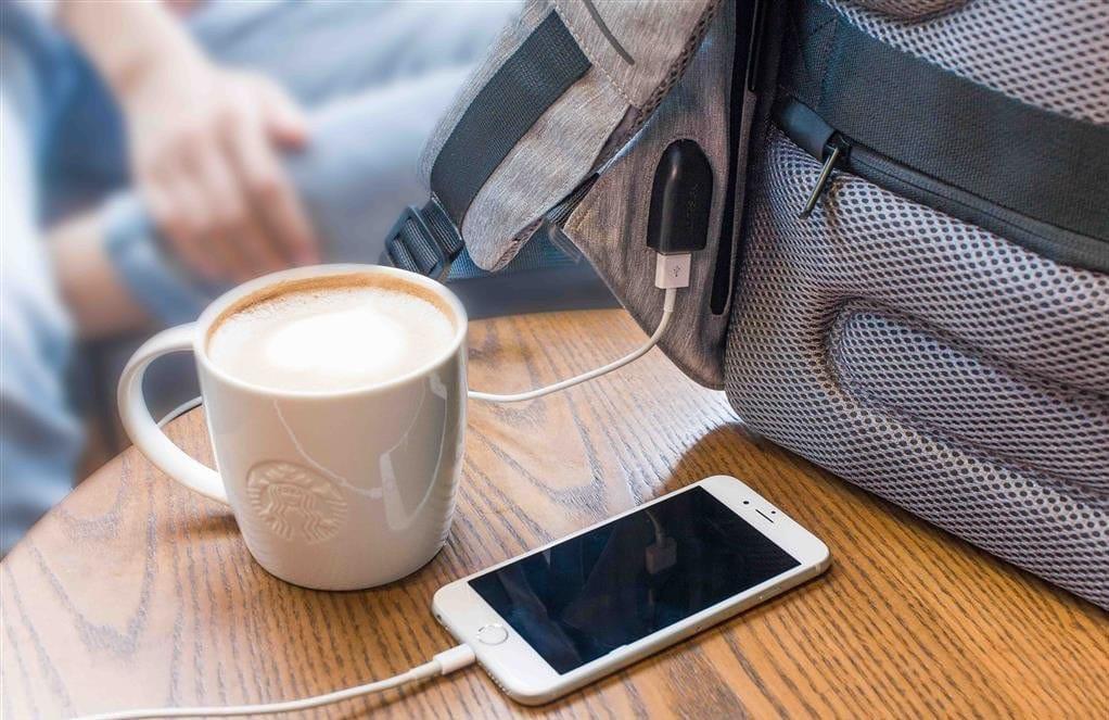 Usb punjenje, torba za ljubitelje tehnologije