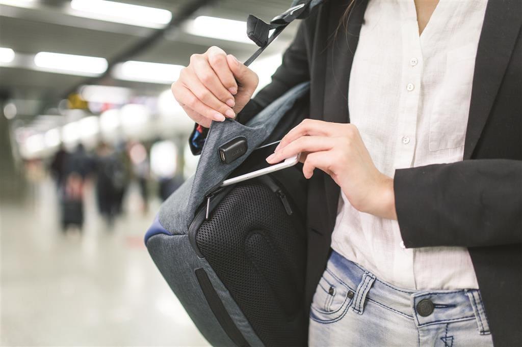Teget Ženska torba za laptop za žene