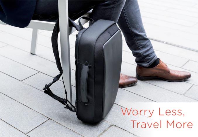 Sigurnosna torba za laptop sa bravom