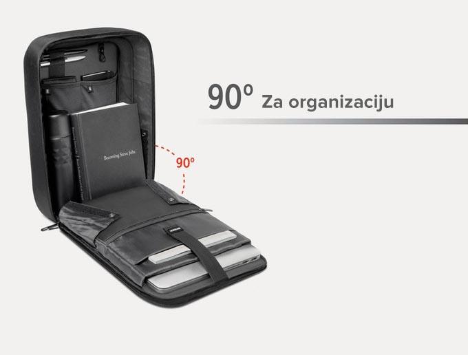 Ugao otvora torba za laptop - Boban 90 stepeni
