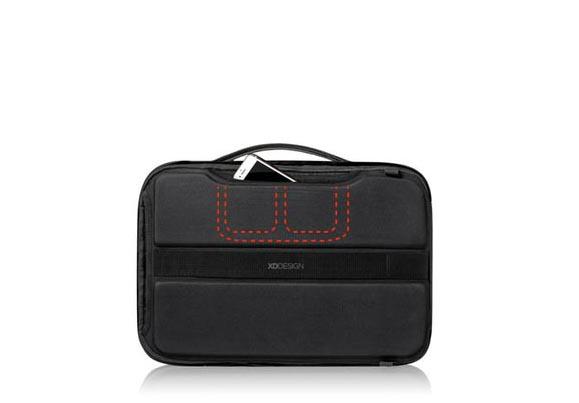 Tri skrivena džepa na torbi od laptopa