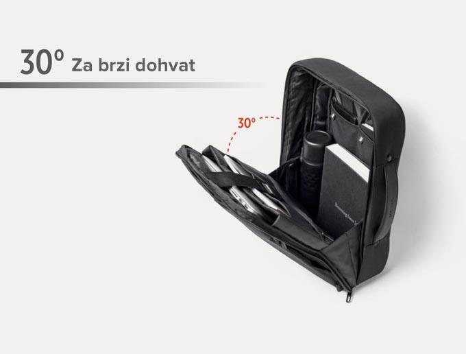 Ugao otvora 30 stepeni - Boban laptop torba
