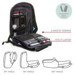 Crni Boban XL - Odeljci ranca za laptop od 17'' inča
